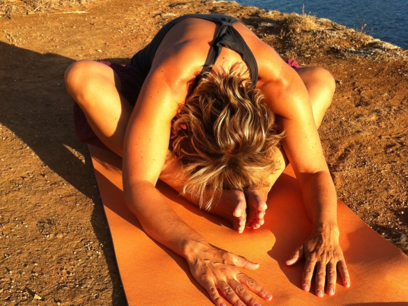 Yin Yoga - Schmetterling